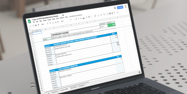 Okr Google Spreadsheet Inside A Free Google Sheets Okr Template To Help You Manage Your Goals Okr Google Spreadsheet Spreadsheet Download
