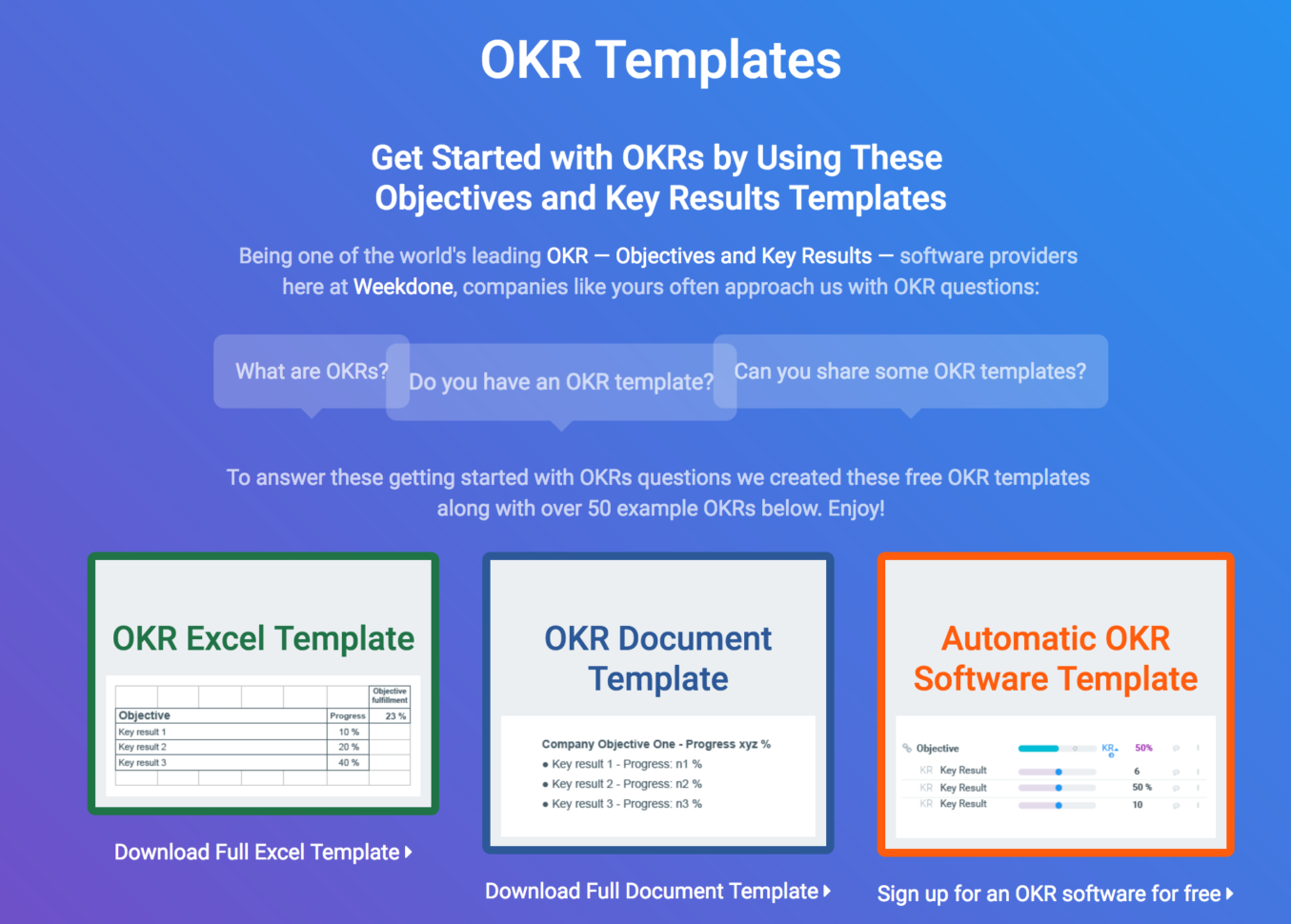 Okr Google Spreadsheet Regarding Okr Templates  Examples  How To Write Great Objectives And Key