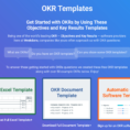 Okr Spreadsheet Intended For Okr Templates  Examples  How To Write Great Objectives And Key