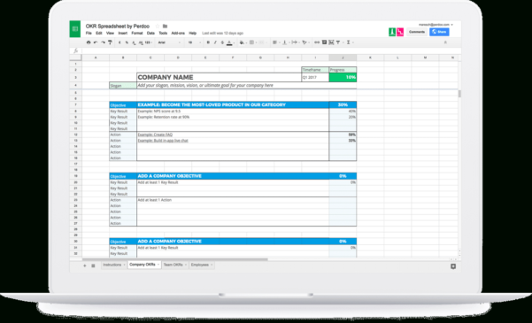 Okr Spreadsheet Pertaining To Okr  The Ultimate Guide To Objectives And Key Results