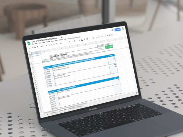Okr Spreadsheet With Regard To A Free Google Sheets Okr Template To Help You Manage Your Goals