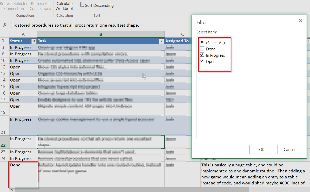 Online Excel Spreadsheet For Filtering Doesn't Work Right In Excel Online  Web Applications