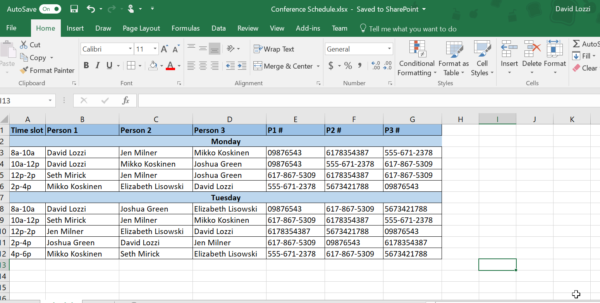 Online Form To Excel Spreadsheet Throughout Use Microsoft Forms To Collect Data Right Into Your Excel File