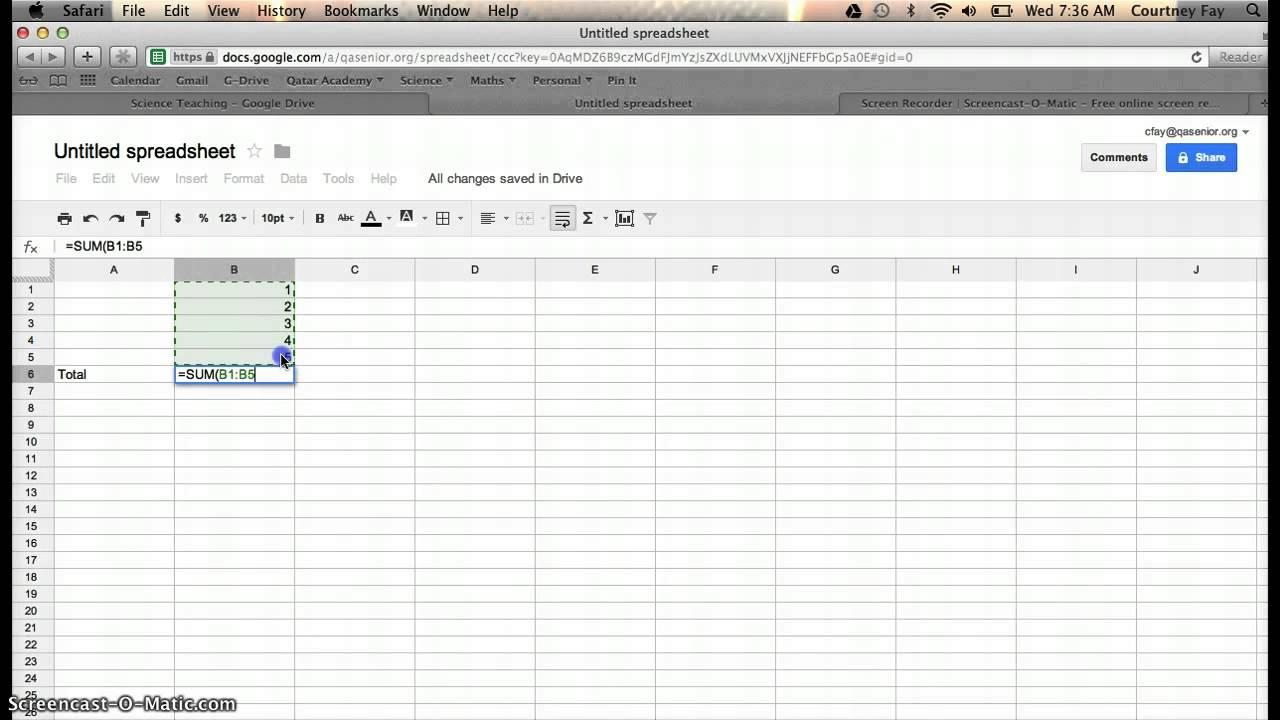 Online Spreadsheet Calculator In Example Of Online Spreadsheet Calculator Maxresdefault Sum And