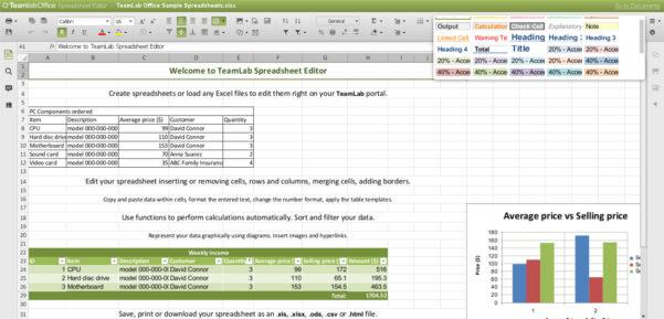 Online Spreadsheet Editor In Online Spreadsheet Editor For How To Make A Spreadsheet Excel