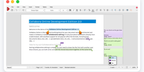 Online Spreadsheet Tools In Digital Collaboration Owncloud With Online Spreadsheet Collaboration