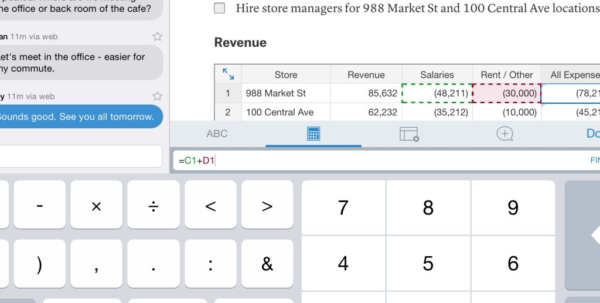 Online Spreadsheet Tools Inside Google Docs Spreadsheet Collaboration With Online Tools Plus