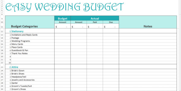 Online Wedding Budget Spreadsheet Inside Wedding Planner Budget Spreadsheet On Online Spreadsheet Spreadsheet