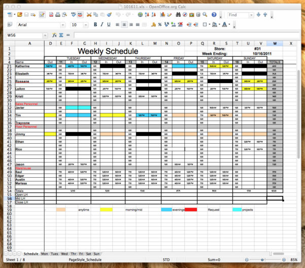 Open Source Spreadsheet Software Regarding Open Office Spreadsheet Landscape  Homebiz4U2Profit