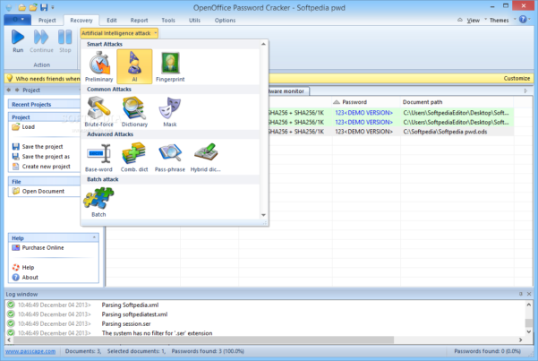 Openoffice Spreadsheet Recovery For Download Openoffice Password Cracker 2.6.0.177