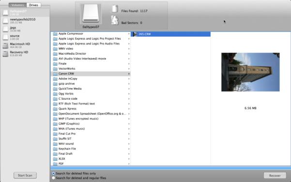 Openoffice Spreadsheet Recovery Throughout Mac Data Recovery Guru  Undelete Files In Os X