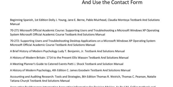 Optimization Modeling With Spreadsheets Solutions Manual In Calaméo  Solutions Manual , Testbank And Instructors Manual