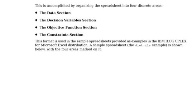 Optimization Modeling With Spreadsheets Solutions Manual Pdf Within Ibm Ilog Cplex For Microsoft Excel User's Manual  Pdf