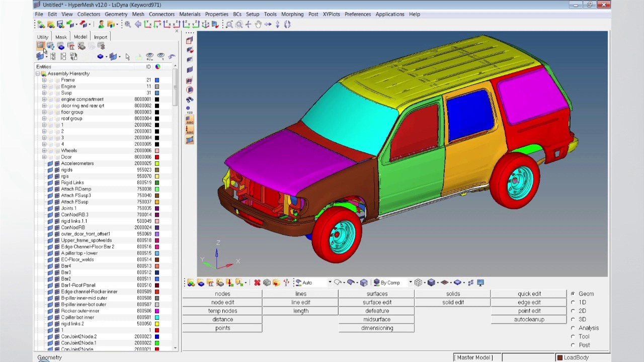 Optimization Modeling With Spreadsheets Solutions Manual With Large Model Finite Element Preprocessing  Altair Hypermesh