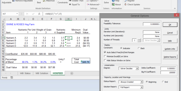 Optimization Modeling With Spreadsheets Solutions Manual Within What'sbest! And Excel Optimization