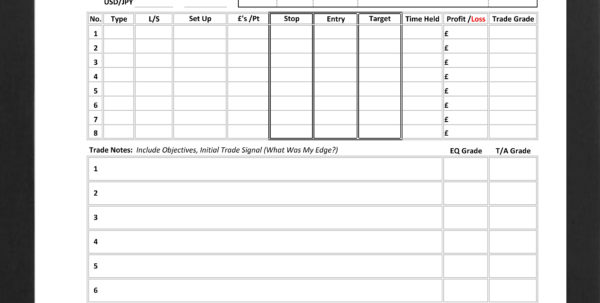 Order Spreadsheet For Day Trading 'order' Spreadsheet  Day Trading Life