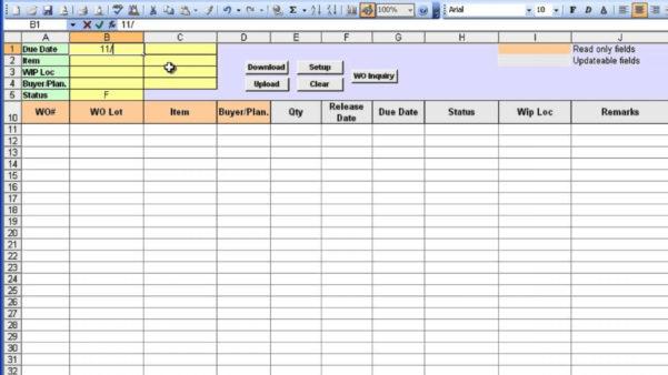 Order Tracking Spreadsheet Template For 009 Template Ideas Excel Work Order ~ Ulyssesroom