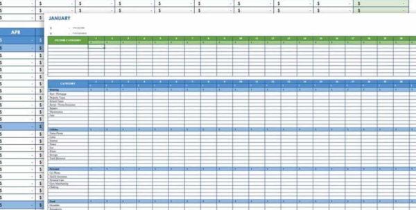 Organize Bills Spreadsheet Pertaining To Organize Bills Spreadsheet  Resourcesaver