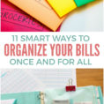 Organizing Bills Spreadsheet For 11 Ways To Organize Your Bills Once And For All