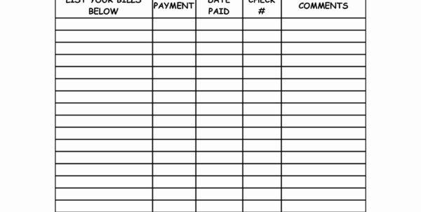Organizing Bills Spreadsheet With Organize Bills Spreadsheet – Spreadsheet Collections