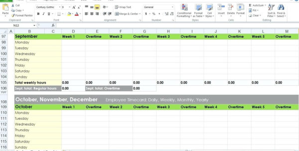 Overtime Tracking Spreadsheet With Regard To Overtime Tracking Spreadsheet Excel – Spreadsheet Collections