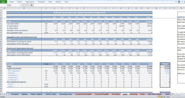 Owner Builder Budget Spreadsheet For Construction Budget Template  Cfotemplates