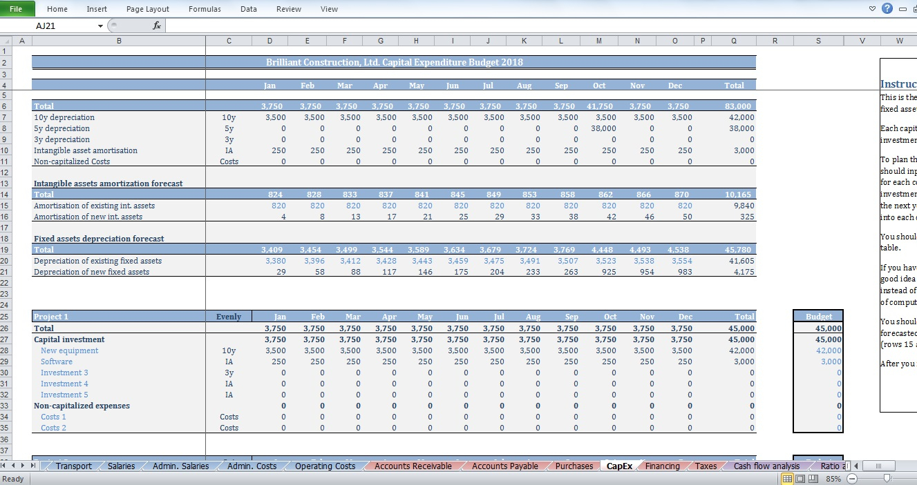 owner builder budget spreadsheet spreadsheet downloa owner