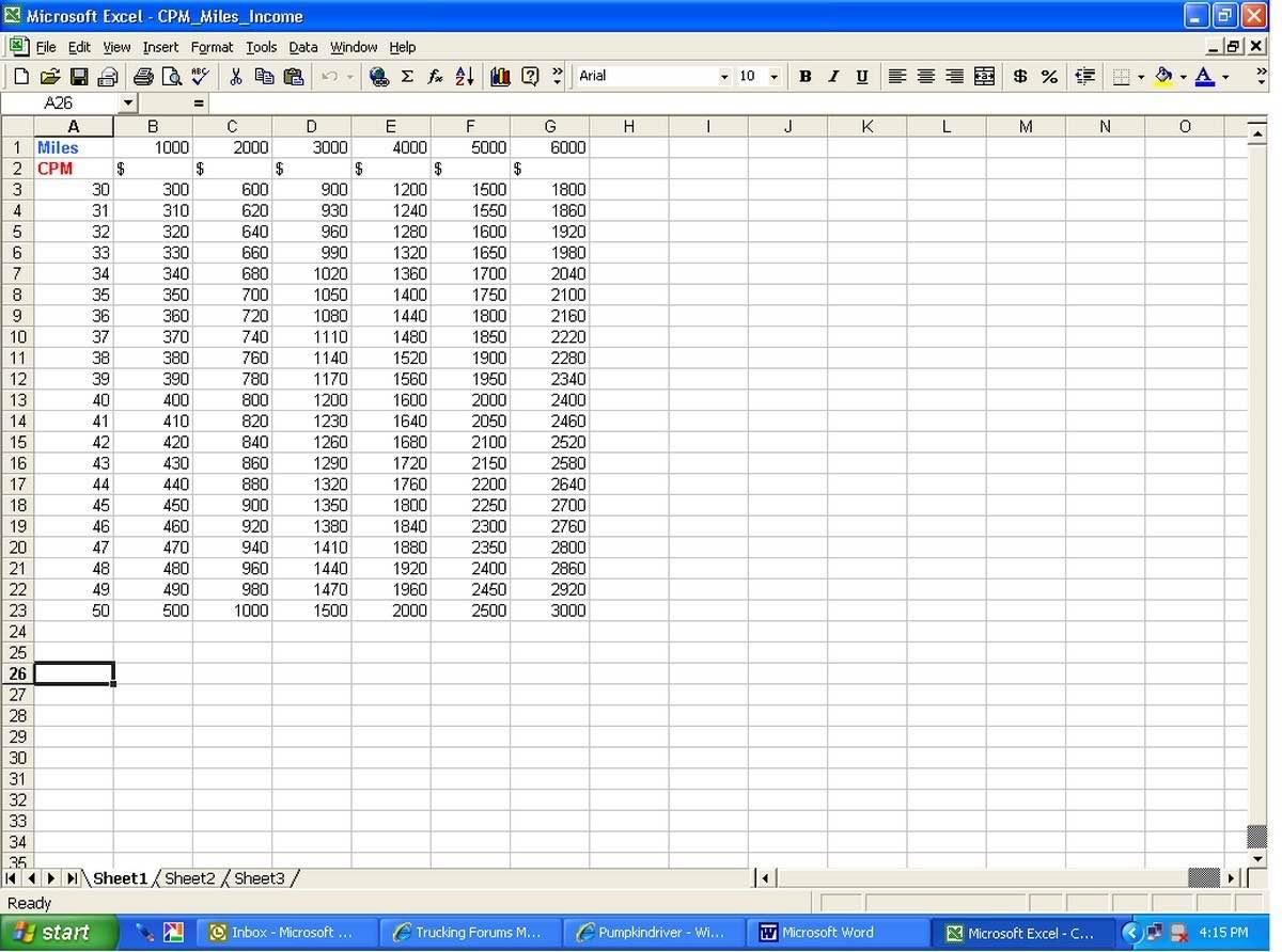 Owner Operator Excel Spreadsheet Pertaining To Trucking Excel Spreadsheet And Owner Operator Spreadsheet  Pulpedagogen