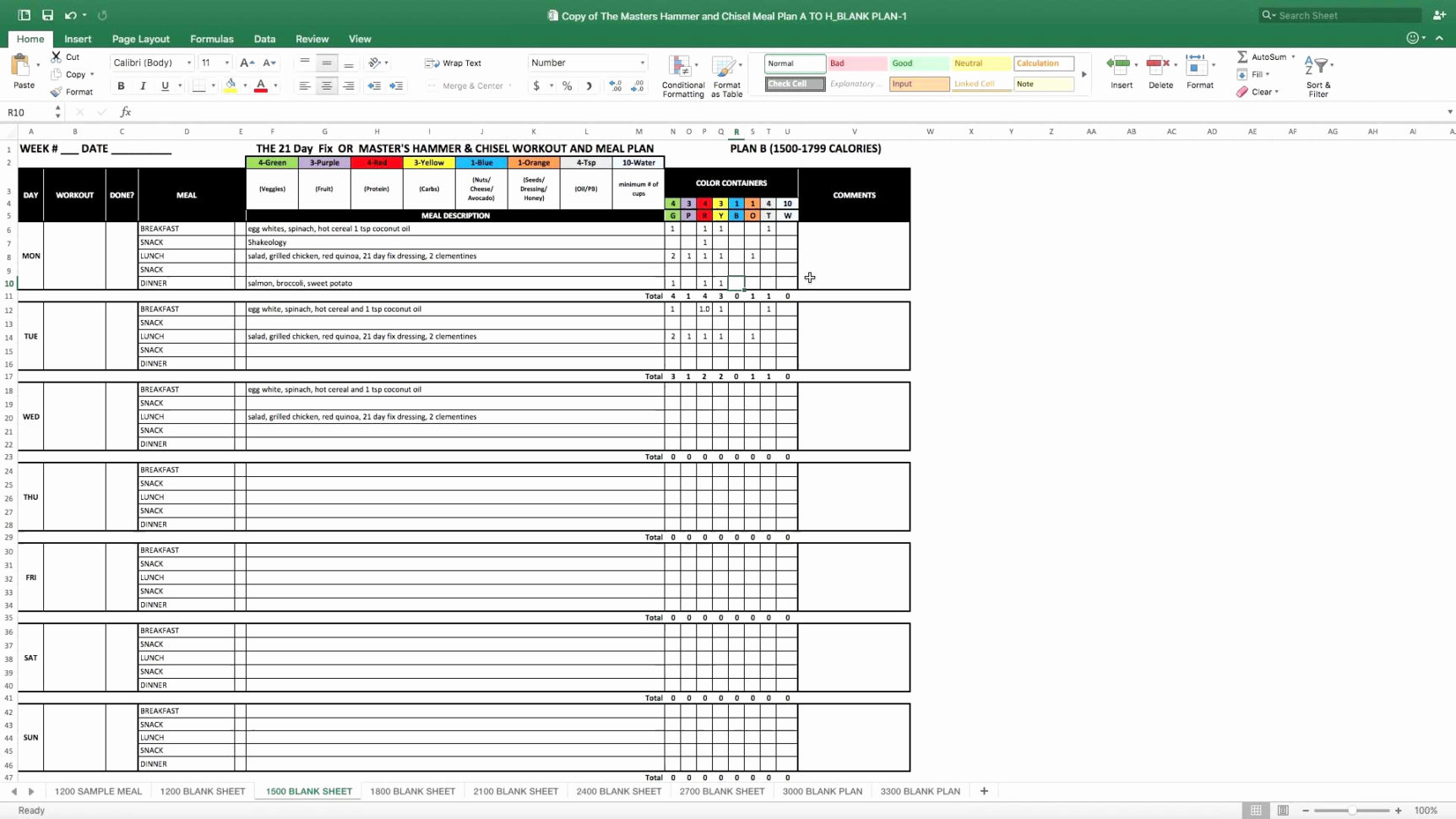 P90X Excel Spreadsheet Intended For P90X Excel Spreadsheet Amazing Excel Spreadsheet Excel Spreadsheet