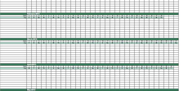 Paid Time Off Tracking Excel Spreadsheet Within Spreadsheet Employee Time Off Tracking Paid And Tracker Template