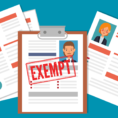 Partial Exemption Calculation Spreadsheet Throughout Exempt Vs. Nonexempt Employees: Guide To California Law 2019