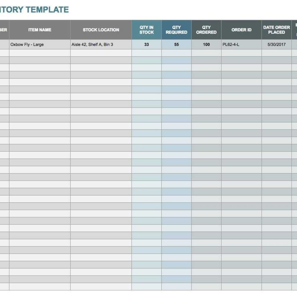 Parts Inventory Spreadsheet Template With Regard To Simple Parts Inventory Spreadsheet Archives  Stalinsektionen Docs