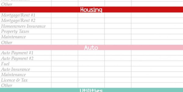 Party Expense Spreadsheet Inside Free Budget Planning Worksheets Images Inspirations Plannereets