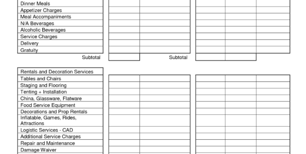 Party Expense Spreadsheet Intended For Party Expenses Spreadsheet  Homebiz4U2Profit