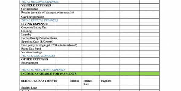 Paycheck To Paycheck Budget Spreadsheet Intended For Free Bi Weekly Paycheck Budget Templates At Com To Spreadsheet