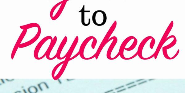 Paycheck To Paycheck Budget Spreadsheet Intended For Paycheck To Paycheck Budget Spreadsheet New Free Paycheck Bud