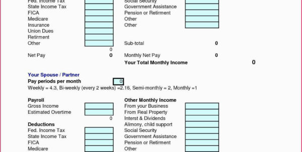 Paycheck To Paycheck Budget Spreadsheet Regarding Best Home Budget Spreadsheet 50 New Paycheck To Paycheck Budget