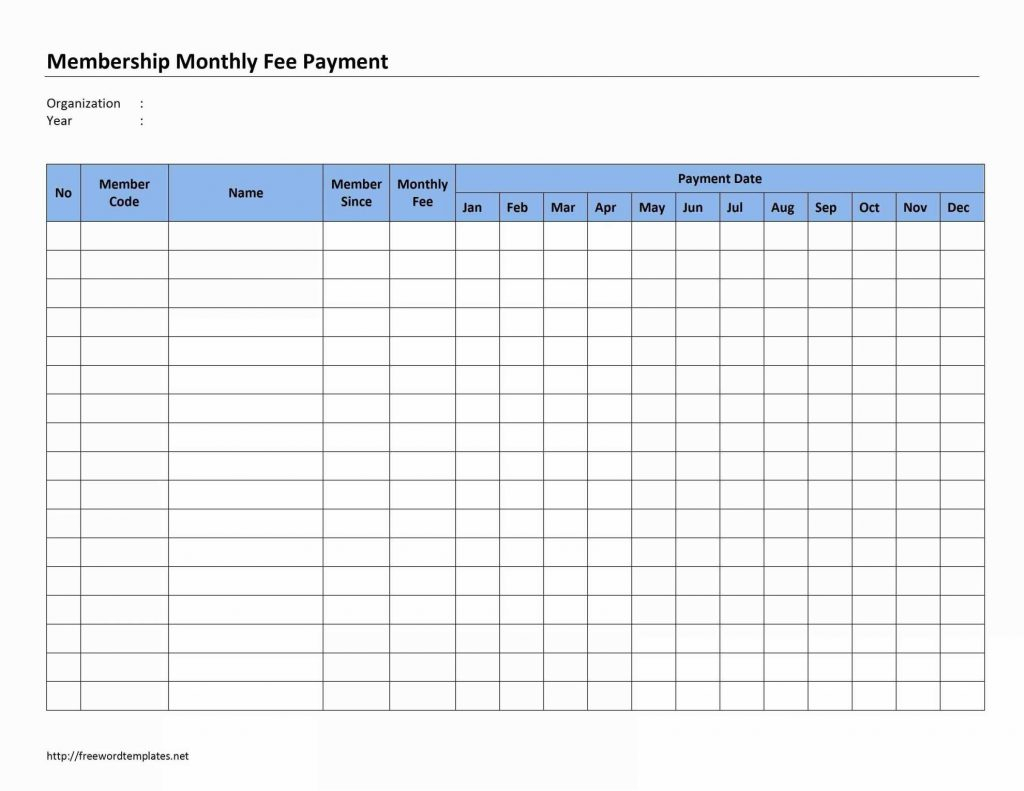 Payment Plan Spreadsheet Template Throughout Car Payment Schedule Template Lovely Monthly Bill Planner