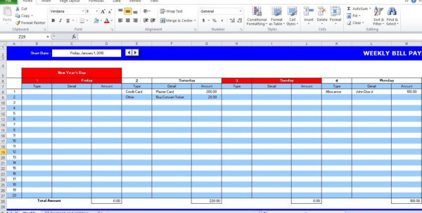 Payment Spreadsheet Within Spreadsheet For Bill Tracking Tracker Excel Inspirational Payment