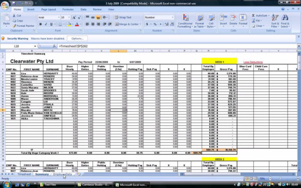 Payroll Analysis Spreadsheet With Regard To Payroll Analysis Spreadsheet – Spreadsheet Collections