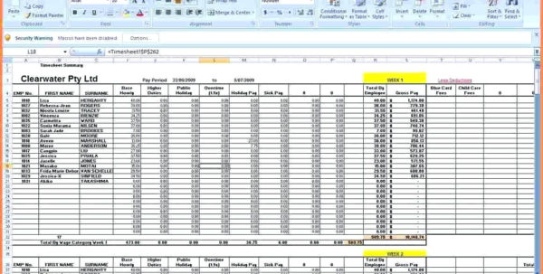 Payroll Calculator Spreadsheet Pertaining To Microsoft Excel Payroll Template Large Size Of Journal Entry