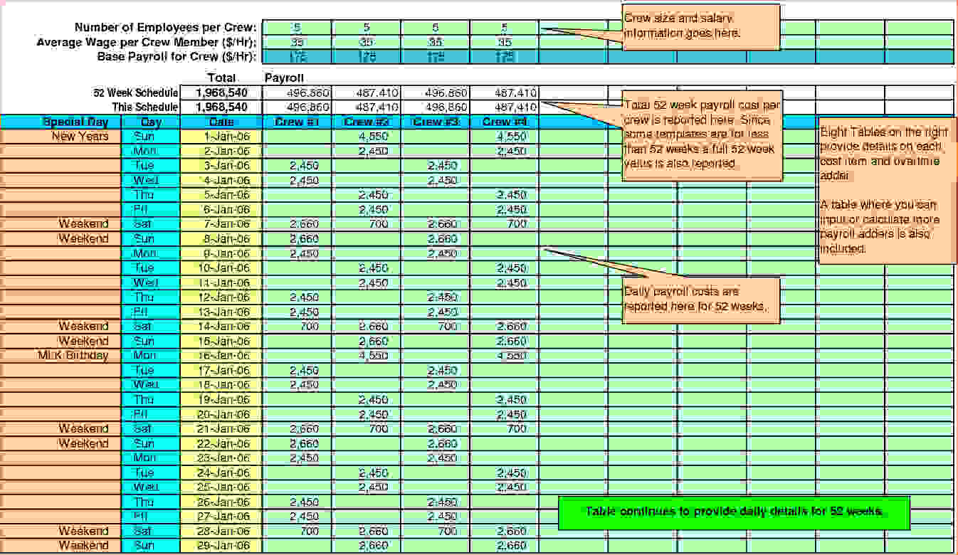 Payroll Calculator Spreadsheet with Pay Stub Spreadsheet ...