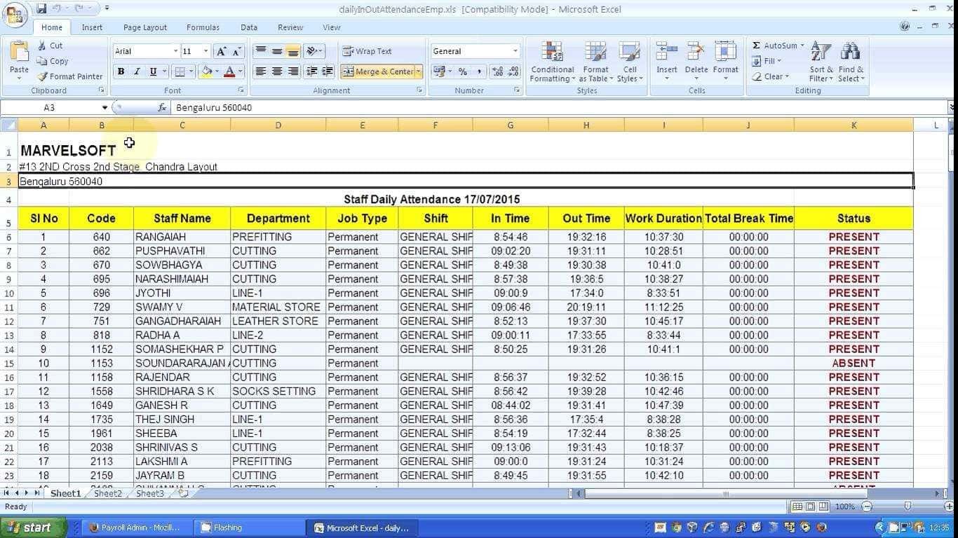 Payroll Excel Spreadsheet Free Download Throughout Free Payroll Software Download Full Version And Salary Payroll Xls