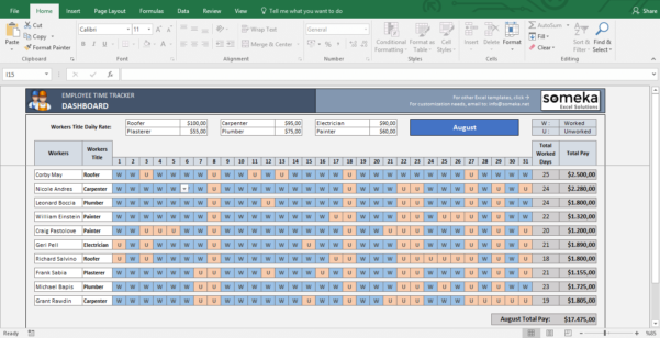 Payroll Spreadsheet Excel Within Simple Payroll Spreadsheet Excel Template  Bardwellparkphysiotherapy