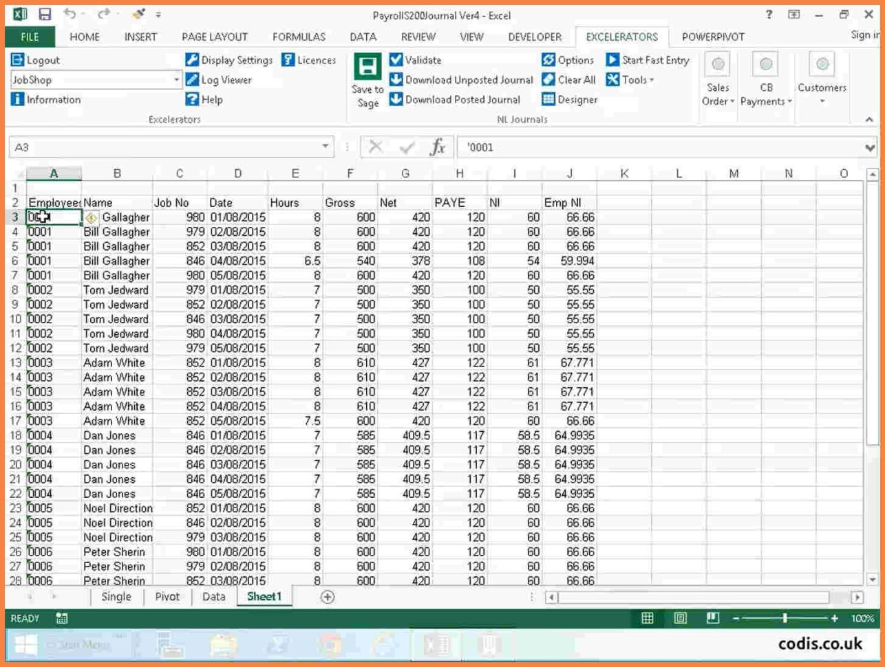 Payroll Spreadsheet Uk Regarding Payroll Sheet Sample Spreadsheet Template Weekly Excel Download