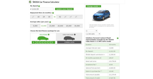 Pcp Car Finance Calculator Spreadsheet Throughout Pcp Finance: How To Work Out How Much You'll Pay And Avoid Surprise
