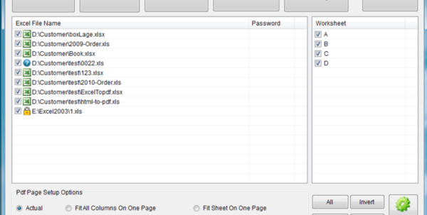 Pdf Data To Excel Spreadsheet Within Free Excel To Pdf Converter  Download
