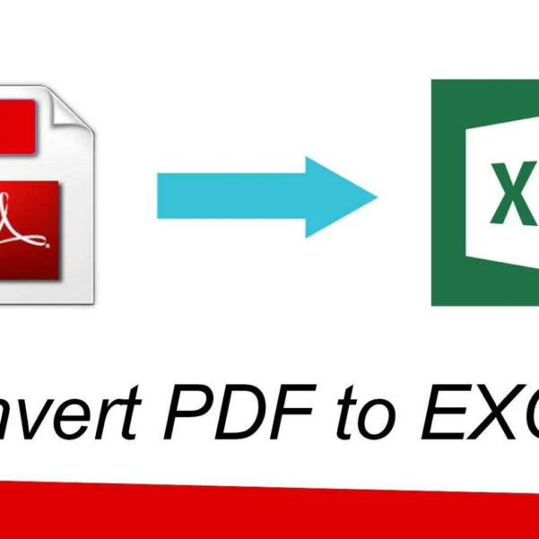 Pdf File To Excel Spreadsheet Regarding How To Convert Pdf File To Excel File  Youtube Inside Converting