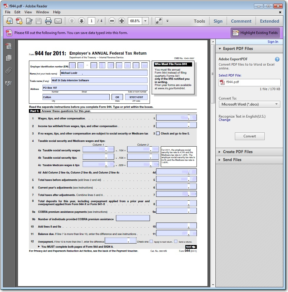 Pdf Form To Excel Spreadsheet For Interactive Pdf Form Creator And Automation  Data Intensive Software