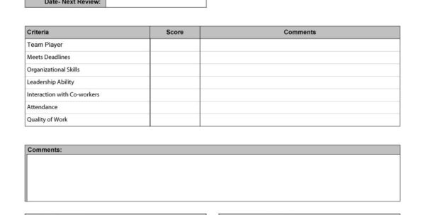 Performance Review Spreadsheet With Regard To 46 Employee Evaluation Forms  Performance Review Examples Performance Review Spreadsheet Spreadsheet Download
